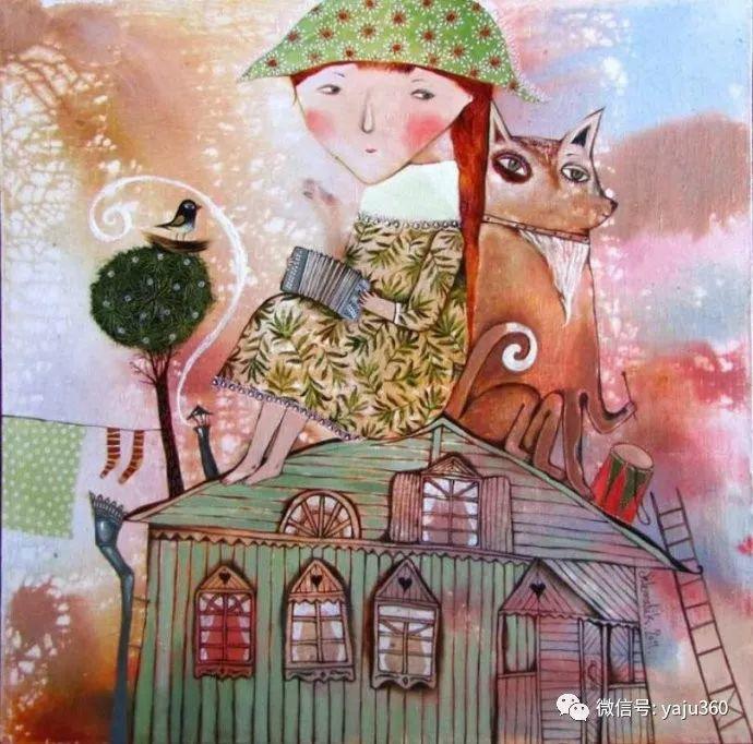回到童年 白俄罗斯Anna Silivonchik绘画欣赏插图34