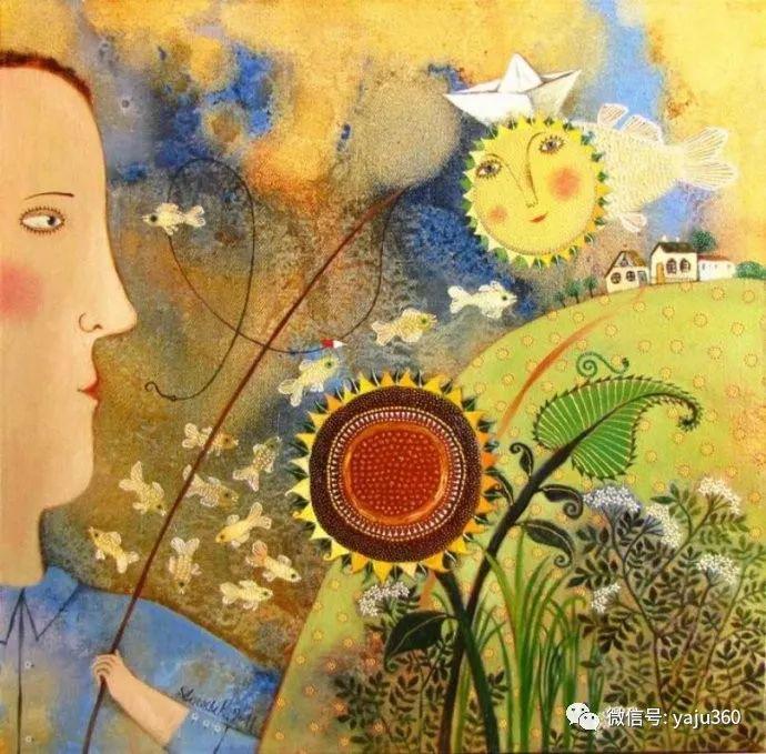 回到童年 白俄罗斯Anna Silivonchik绘画欣赏插图35