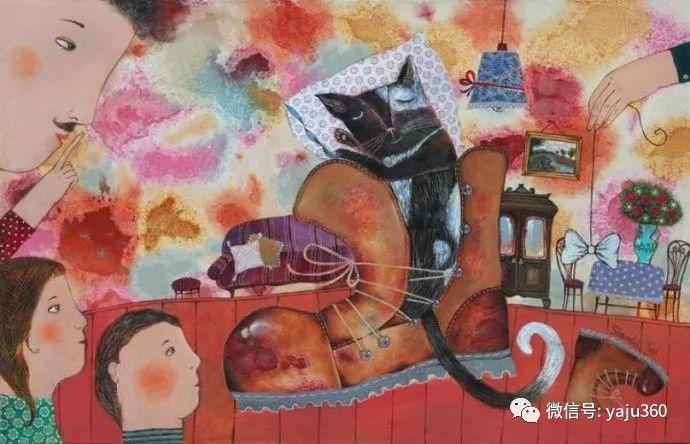 回到童年 白俄罗斯Anna Silivonchik绘画欣赏插图37