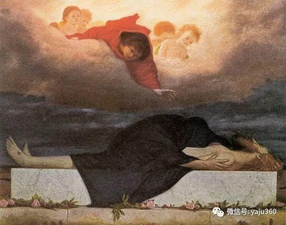 象征主义 瑞士画家Arnold bocklin插图29