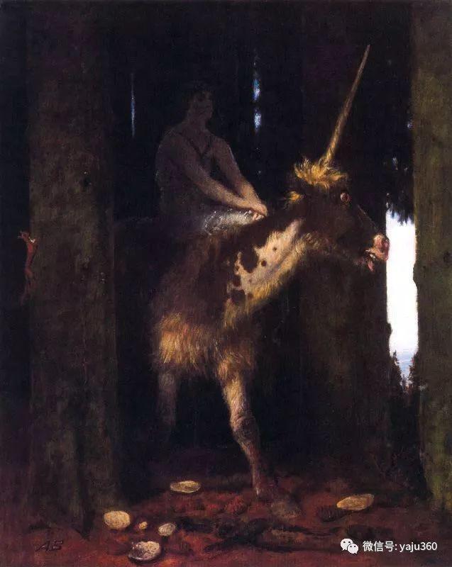 象征主义 瑞士画家Arnold bocklin插图30