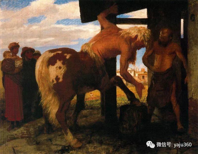 象征主义 瑞士画家Arnold bocklin插图33