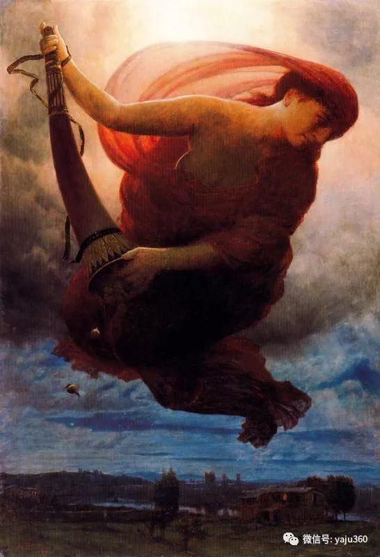 象征主义 瑞士画家Arnold bocklin插图37