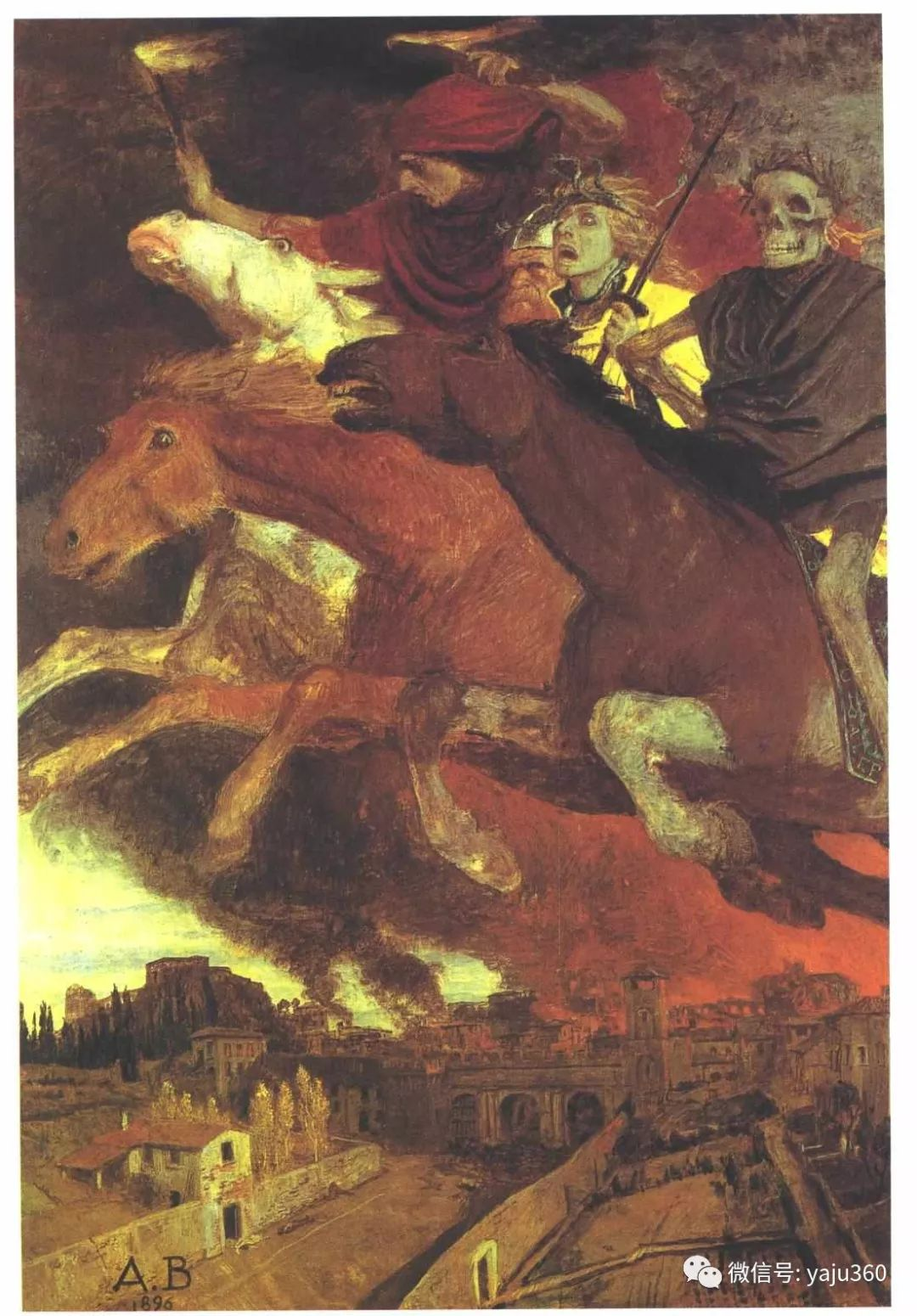 象征主义 瑞士画家Arnold bocklin插图40
