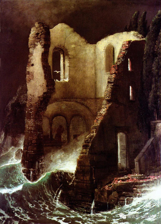 象征主义 瑞士画家Arnold bocklin插图41