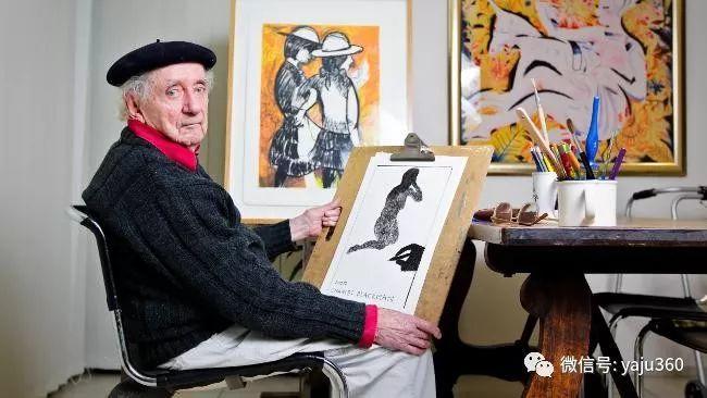 澳大利亚画家Charles Blackman插图1