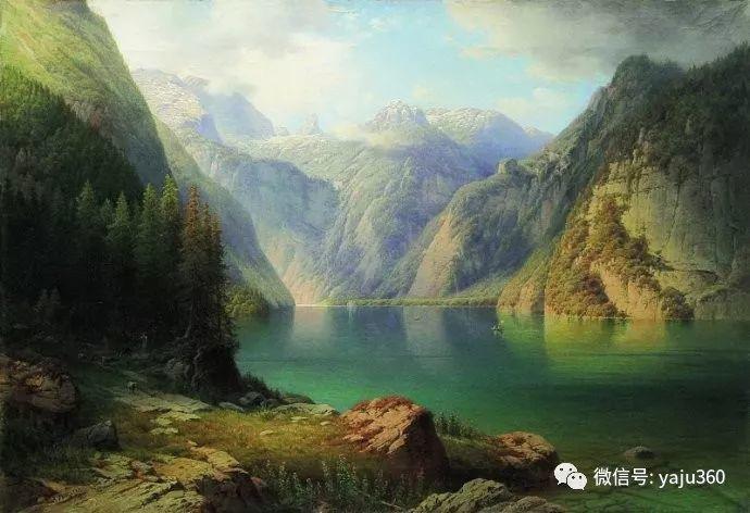 静谧古典风景油画 俄罗斯Meshchersky Arseny插图1