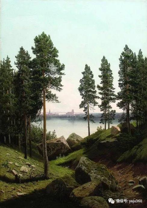静谧古典风景油画 俄罗斯Meshchersky Arseny插图3