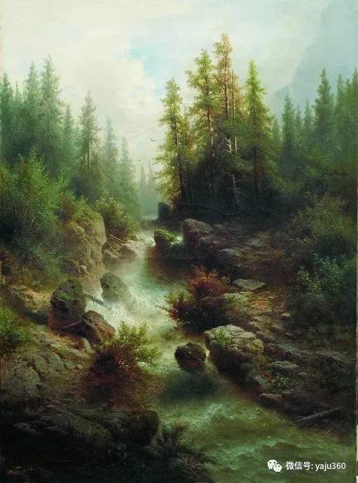 静谧古典风景油画 俄罗斯Meshchersky Arseny插图5