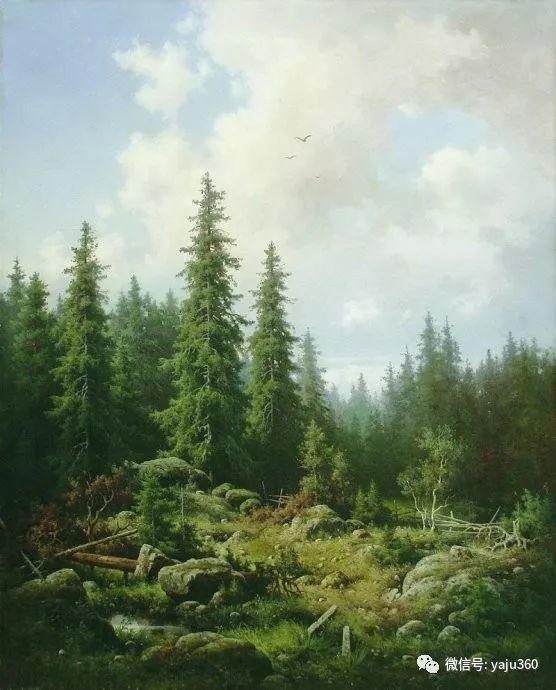 静谧古典风景油画 俄罗斯Meshchersky Arseny插图7