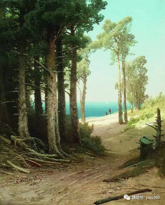 静谧古典风景油画 俄罗斯Meshchersky Arseny插图11