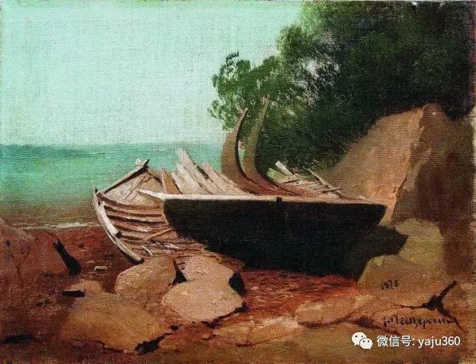 静谧古典风景油画 俄罗斯Meshchersky Arseny插图13