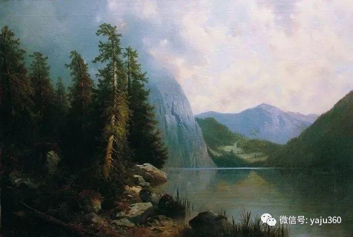静谧古典风景油画 俄罗斯Meshchersky Arseny插图17