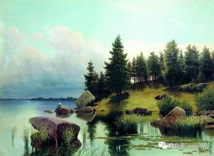 静谧古典风景油画 俄罗斯Meshchersky Arseny插图19