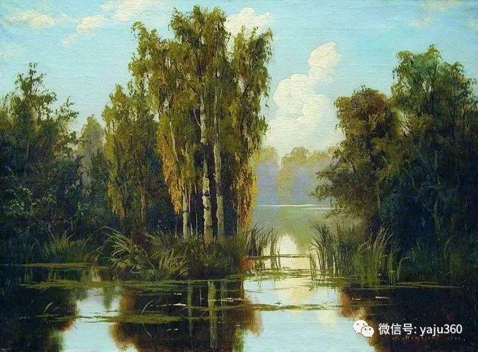 静谧古典风景油画 俄罗斯Meshchersky Arseny插图21