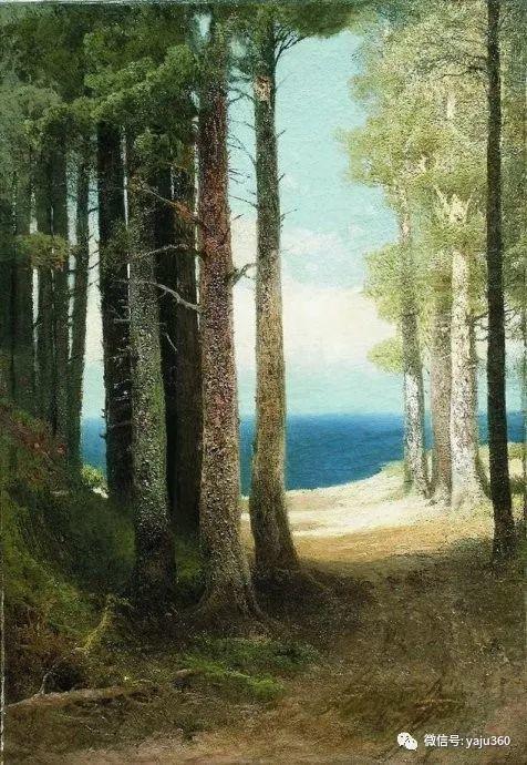 静谧古典风景油画 俄罗斯Meshchersky Arseny插图23