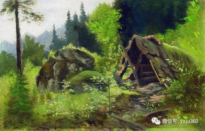 静谧古典风景油画 俄罗斯Meshchersky Arseny插图25