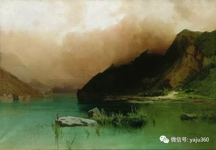 静谧古典风景油画 俄罗斯Meshchersky Arseny插图27