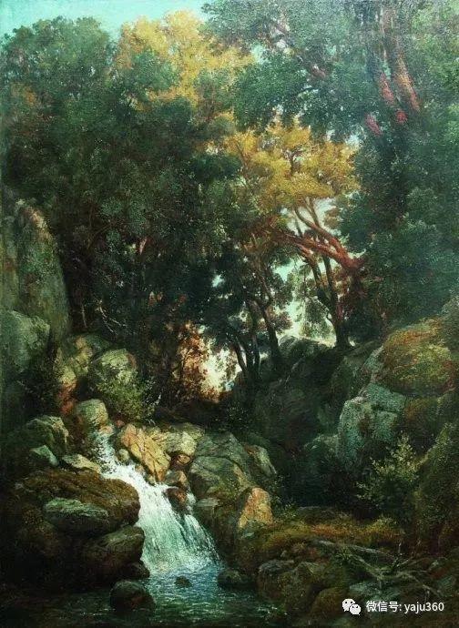 静谧古典风景油画 俄罗斯Meshchersky Arseny插图31