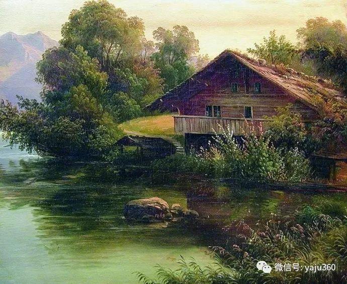 静谧古典风景油画 俄罗斯Meshchersky Arseny插图33