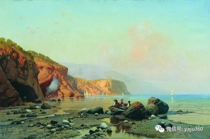静谧古典风景油画 俄罗斯Meshchersky Arseny插图37