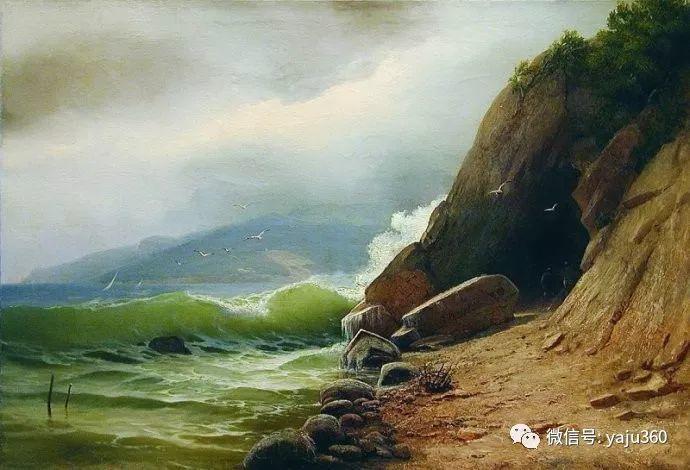 静谧古典风景油画 俄罗斯Meshchersky Arseny插图39