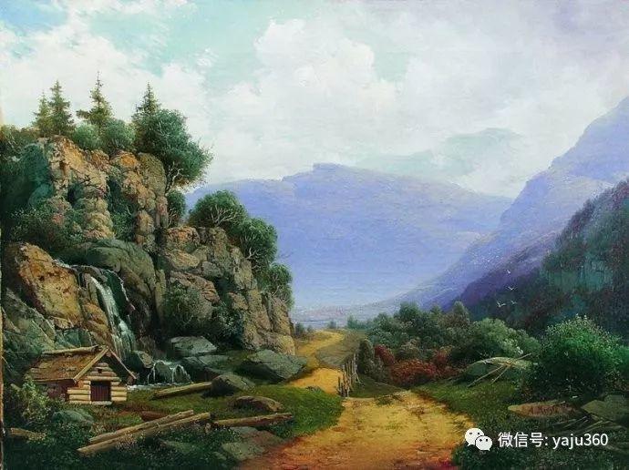 静谧古典风景油画 俄罗斯Meshchersky Arseny插图41