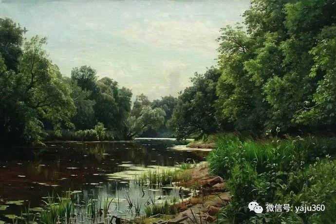 静谧古典风景油画 俄罗斯Meshchersky Arseny插图43