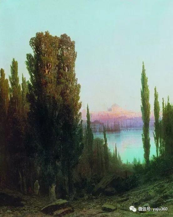 静谧古典风景油画 俄罗斯Meshchersky Arseny插图45