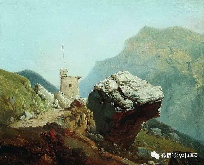静谧古典风景油画 俄罗斯Meshchersky Arseny插图49