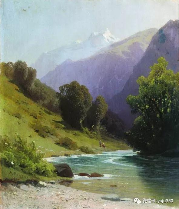 静谧古典风景油画 俄罗斯Meshchersky Arseny插图51