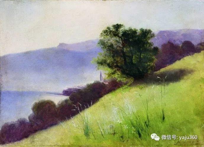 静谧古典风景油画 俄罗斯Meshchersky Arseny插图55