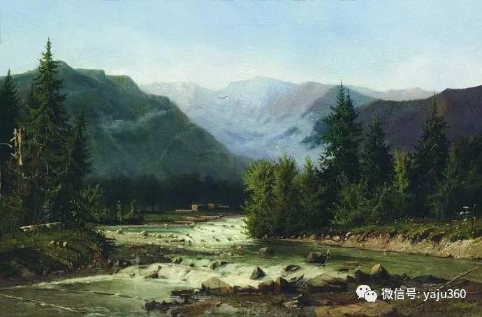 静谧古典风景油画 俄罗斯Meshchersky Arseny插图57