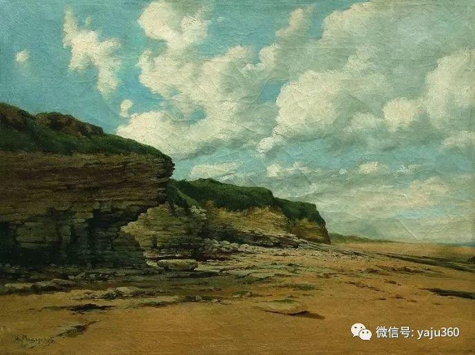 静谧古典风景油画 俄罗斯Meshchersky Arseny插图59