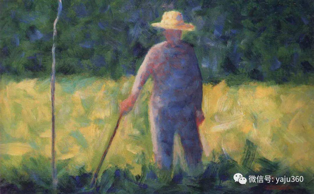 点彩派代表 法国Georges Seurat插图7