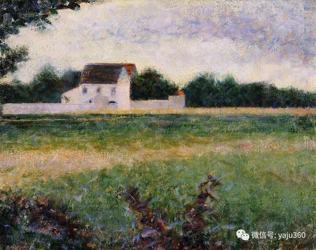 点彩派代表 法国Georges Seurat插图8