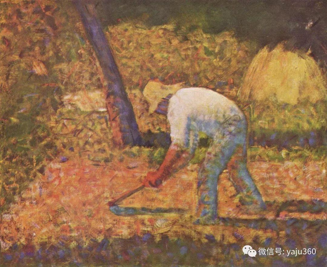 点彩派代表 法国Georges Seurat插图9
