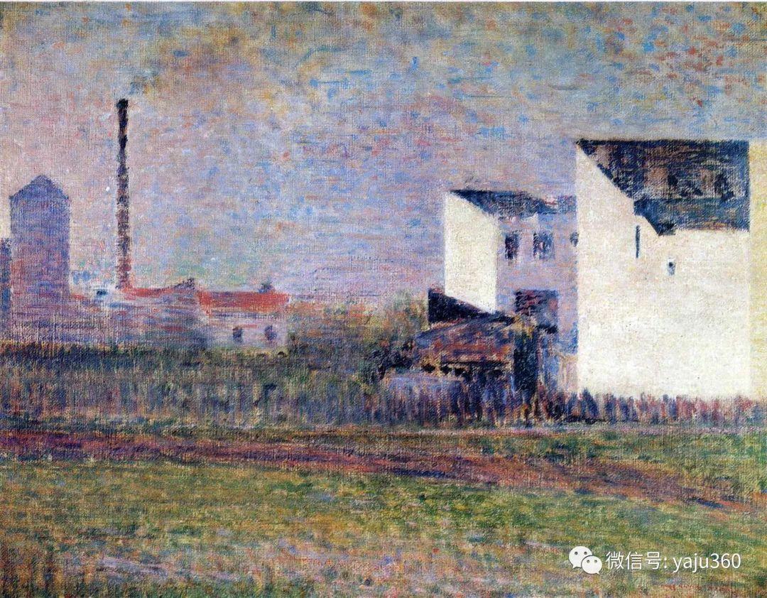 点彩派代表 法国Georges Seurat插图11