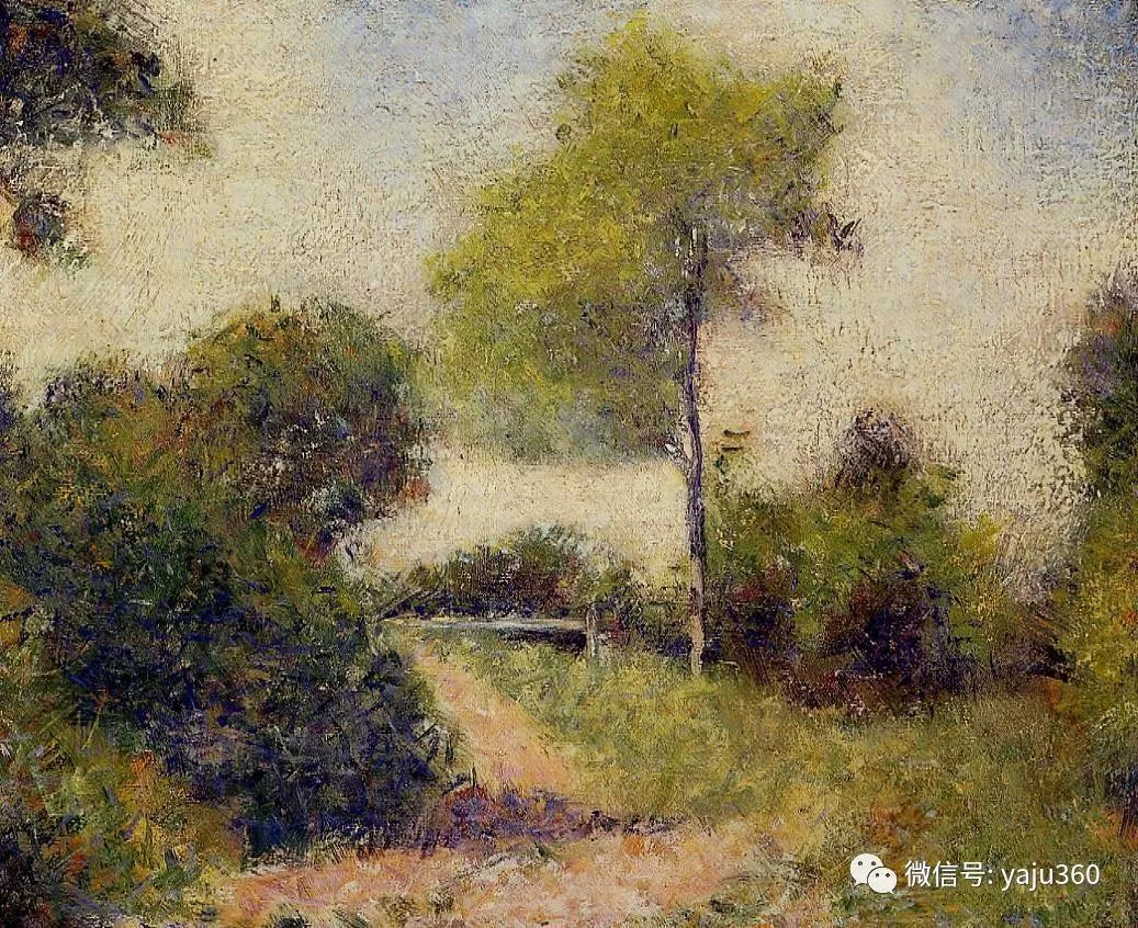 点彩派代表 法国Georges Seurat插图12