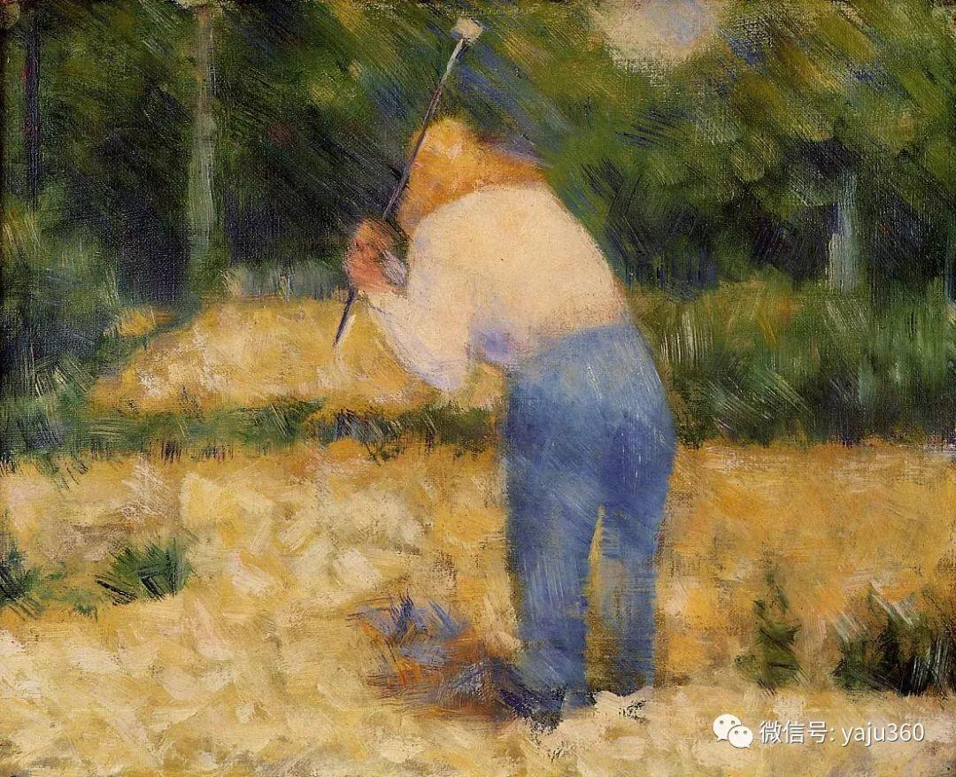 点彩派代表 法国Georges Seurat插图15