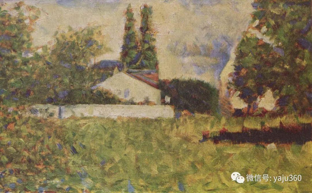 点彩派代表 法国Georges Seurat插图19