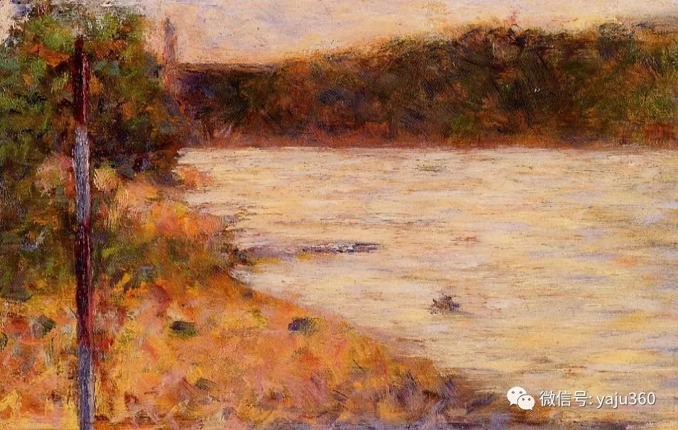 点彩派代表 法国Georges Seurat插图20