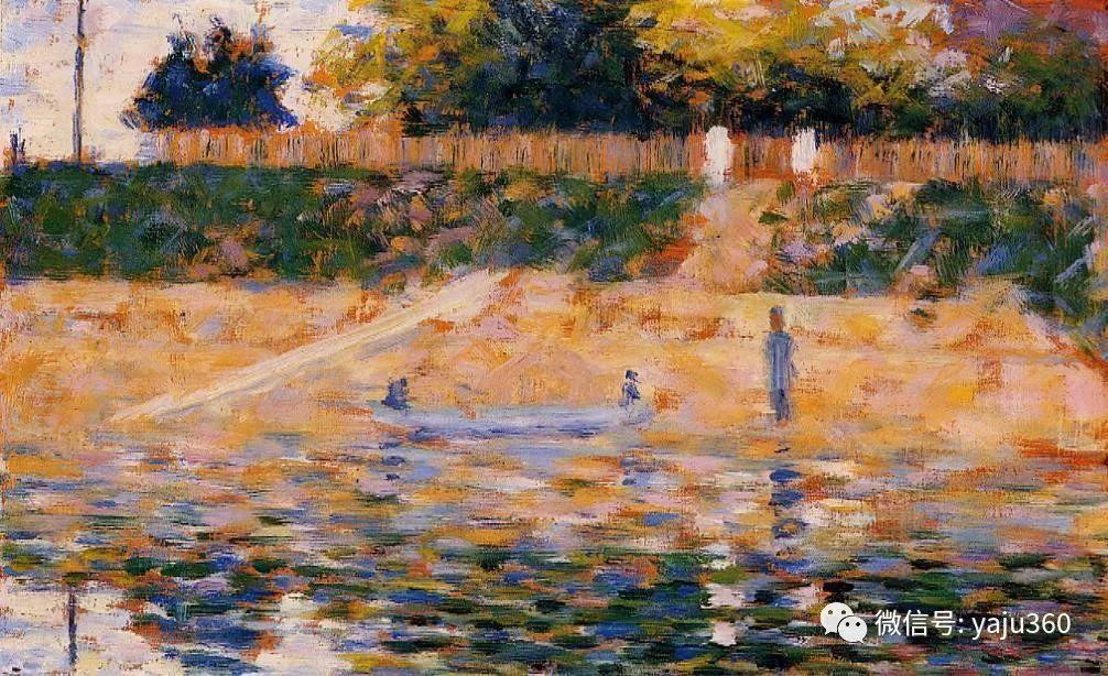 点彩派代表 法国Georges Seurat插图22