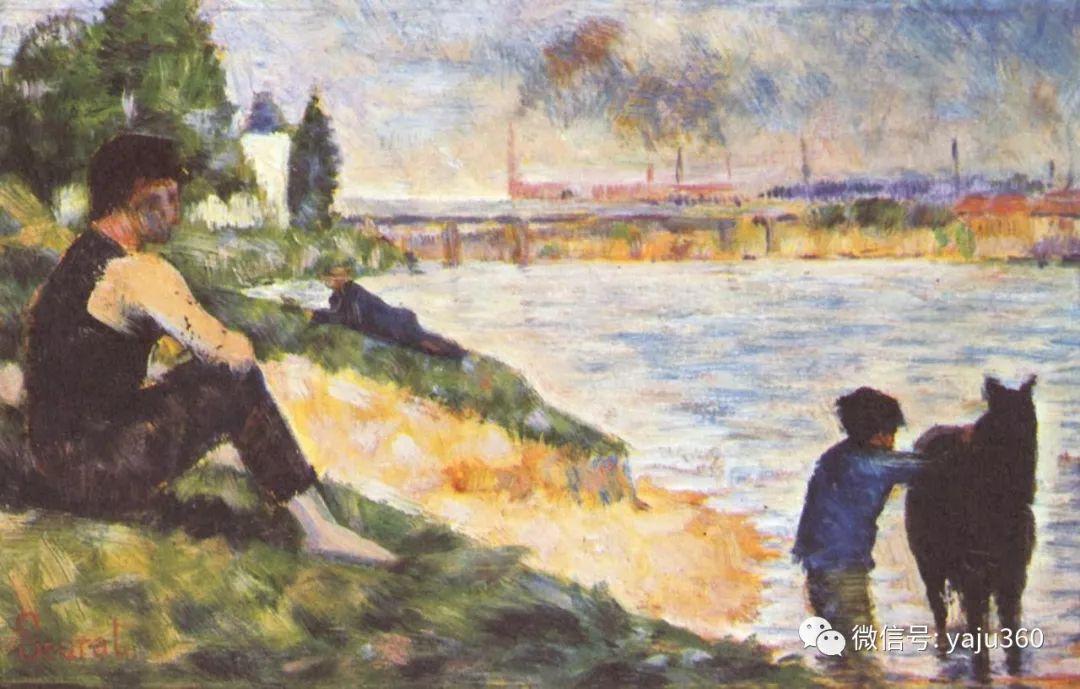 点彩派代表 法国Georges Seurat插图23