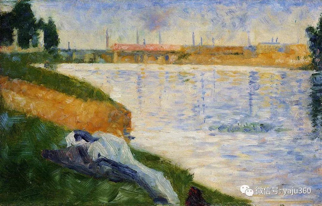 点彩派代表 法国Georges Seurat插图24