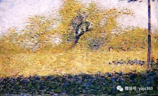 点彩派代表 法国Georges Seurat插图25
