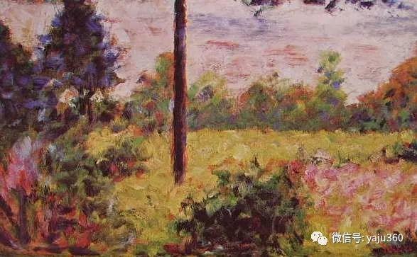 点彩派代表 法国Georges Seurat插图28