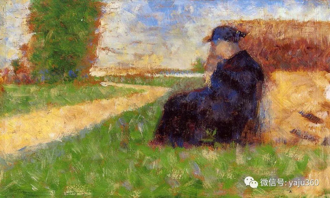 点彩派代表 法国Georges Seurat插图30
