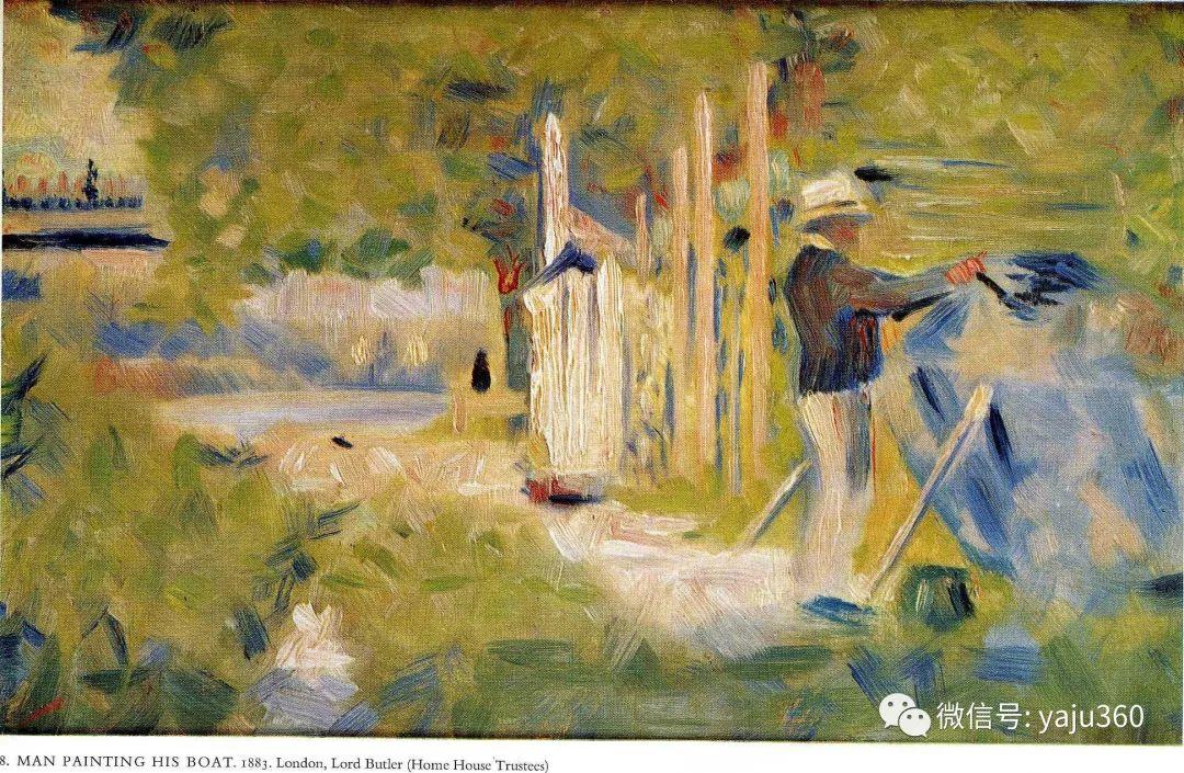 点彩派代表 法国Georges Seurat插图31
