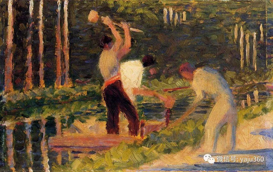 点彩派代表 法国Georges Seurat插图32